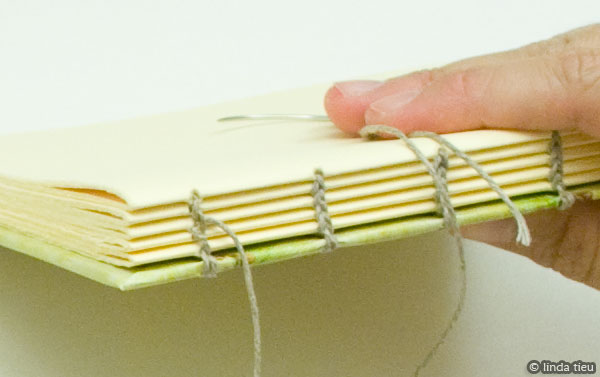 How To Make A Book Binding : Chain or coptic stitch bookbinding tutorial tortagialla