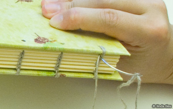 How to binding book
