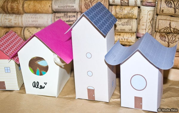 More Paper House And Building Templates  Tortagialla