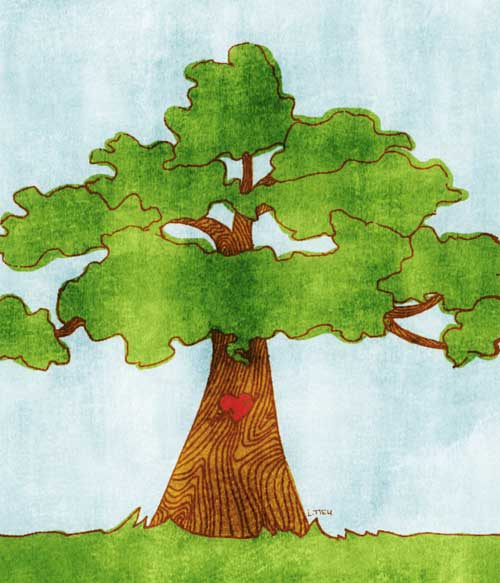 Illustration friday tree