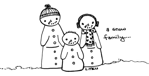 Illustration Friday: Snow