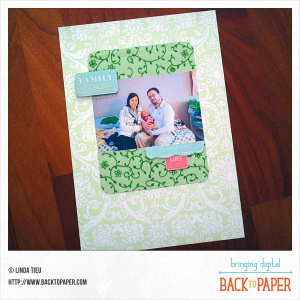 Back to Basic Scrapbooking
