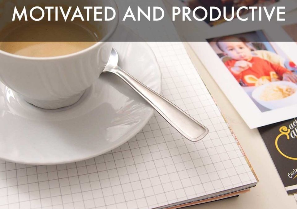 How to Stay Creatively Motivated and Productive