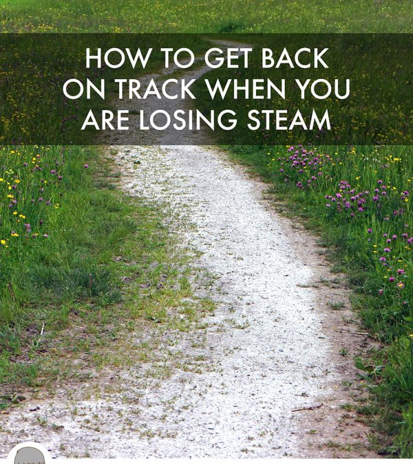 How To Get Back On Track When You Are Losing Steam