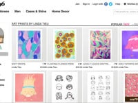 Print On Demand With Society6