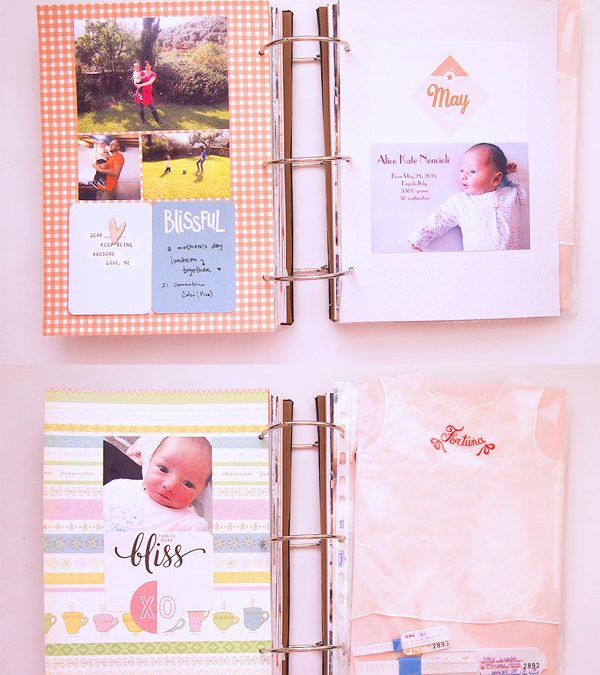 May 2015 Memory Book Pages