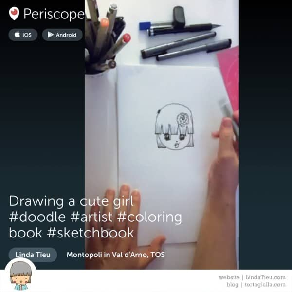 Experimenting on Periscope