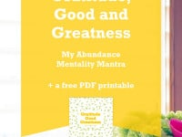 From Gremlins to Gratitude, Good and Greatness – My Abundance Mentality Mantra