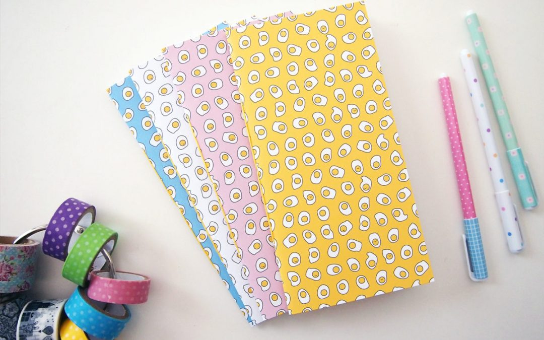 Sunny Side Up Printables and Pocket Notebooks on Petit a Petit Blog