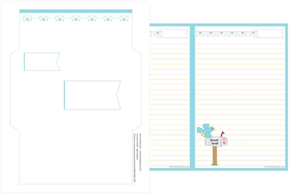 Letter writing service notepads