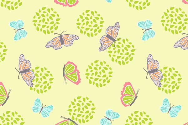 Lovely Butterflies Stationery Printable on HappyPrintClub.com