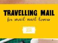 Travelling Mail for Snail Mail Lovers