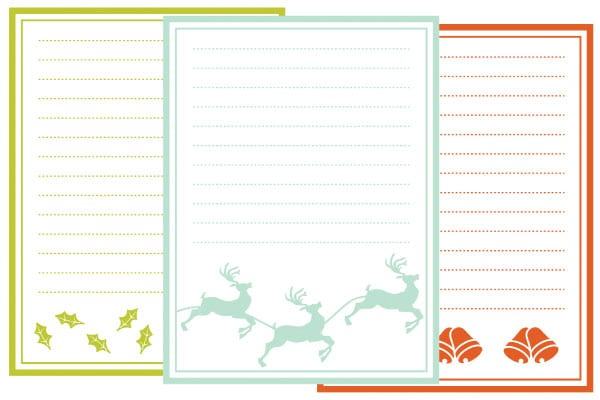 Free Holiday Journaling Cards