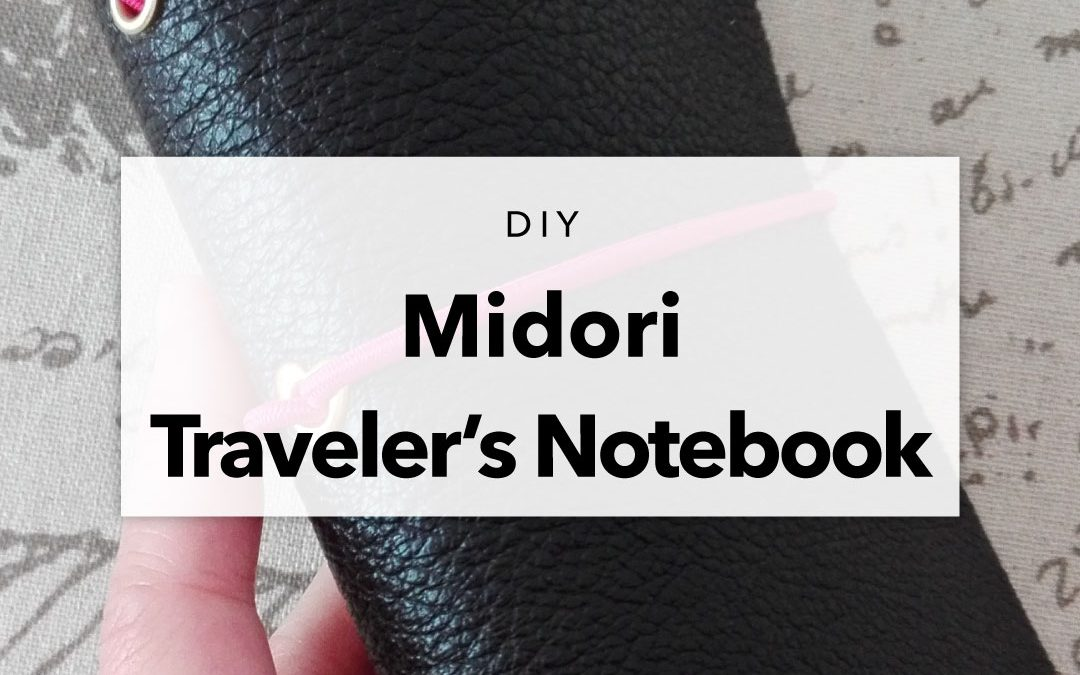 DIY Passport Size Midori Traveler's Notebook and Inserts