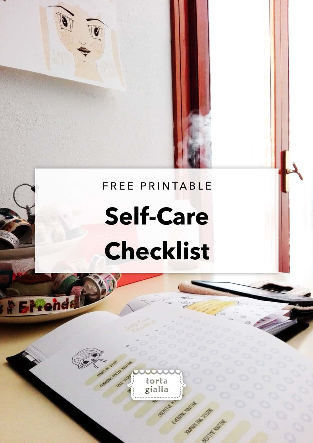 Self-Care Checklist | Free printable download