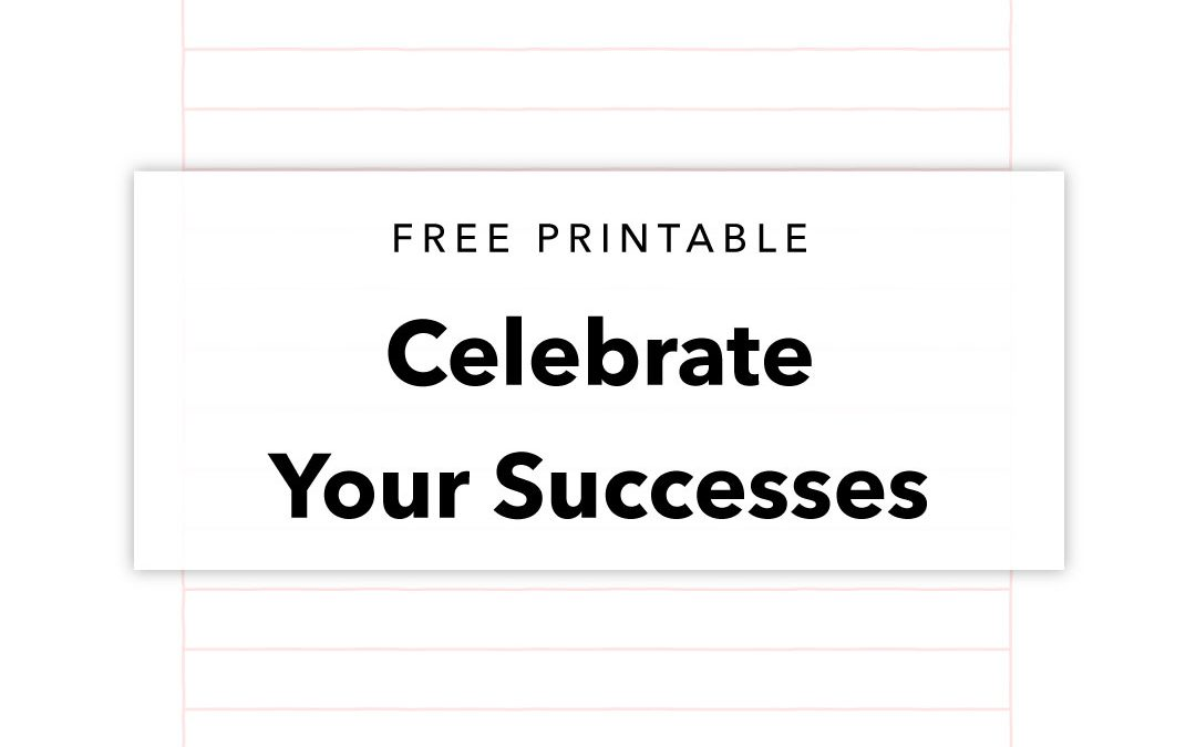 Free Printable to Plan For Success
