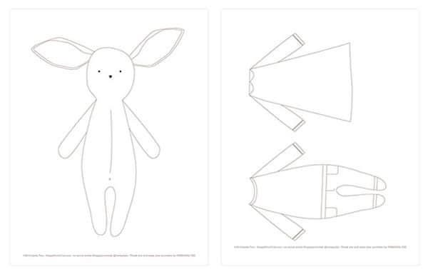 Free Easter Bunny Printables