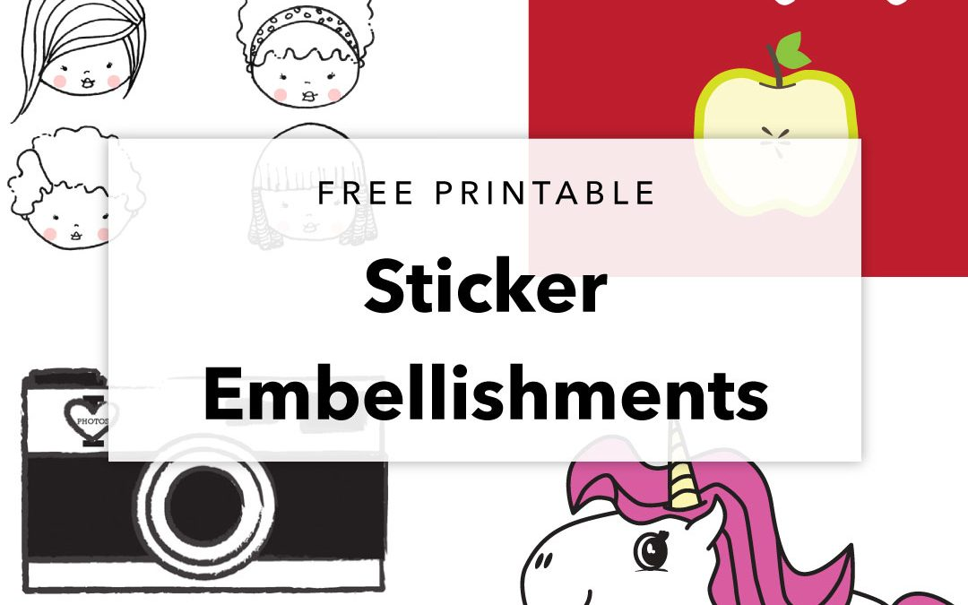 Another Free Printable Sticker Sheet