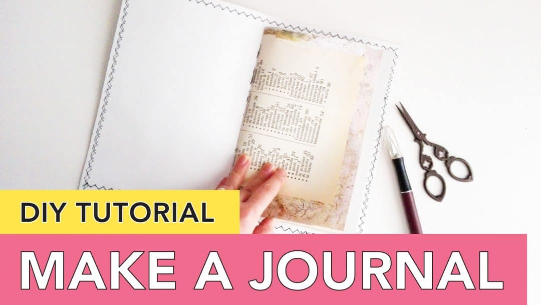 How to Make a Journal – Video Series – DIY