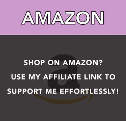 If you shop on Amazon, go through my affiliate link to support me through commissions, no difference for you - it's effortless!