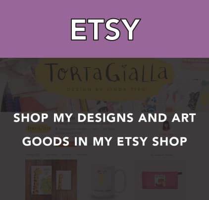 Support me through my Etsy shop of designs and art goods.