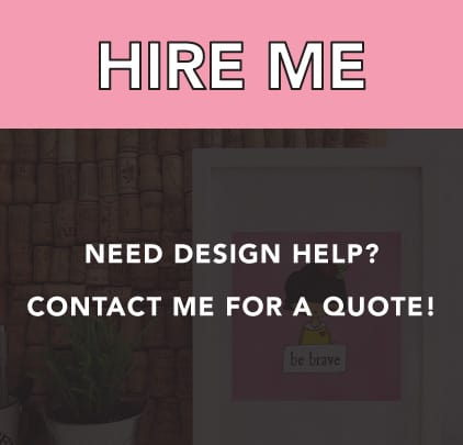 Need design help? Hire me!