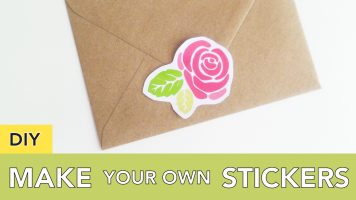 Make Your Own Stickers | Use Printables and Free Graphics