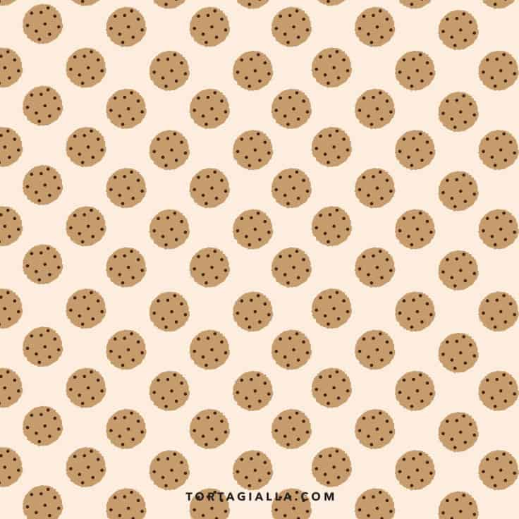Printable Cookie Paper Pattern on tortagialla.com