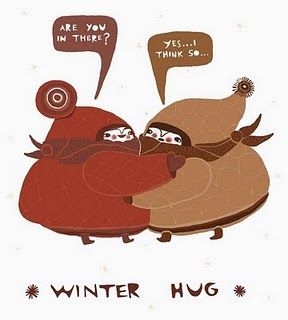 winter hug