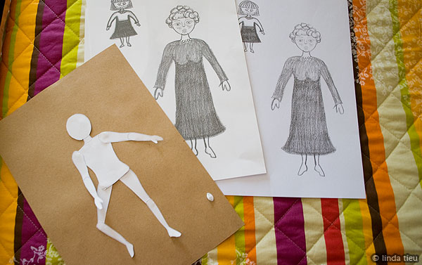 Looking for a free printable paper dolls? Check out my template here that is free to download and print. A great DIY crafty activity to do with the kids.