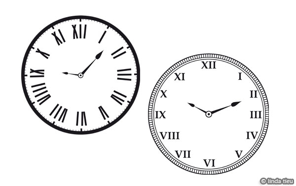 photograph about Printable Clocks referred to as Free of charge Printable Clock Graphics tortagialla