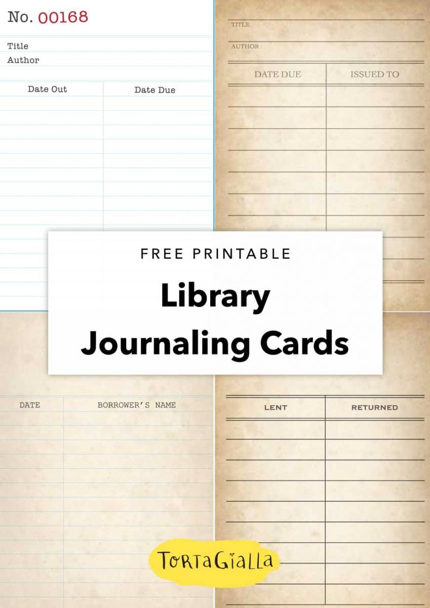 It's just a picture of Free Printable Journaling Cards regarding glam planner
