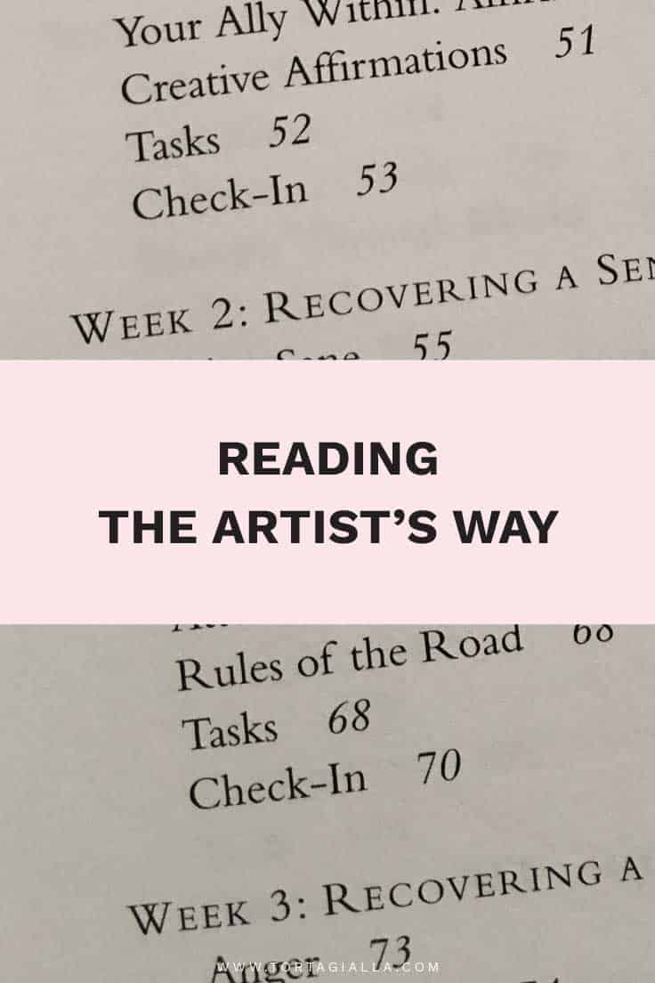 Reading The Artist's Way