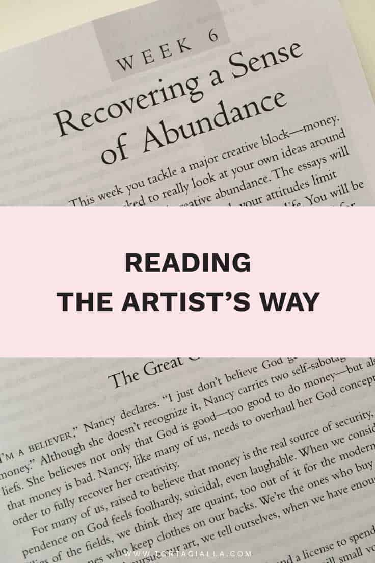 Reading The Artist's Way: Recovering a Sense of Abundance