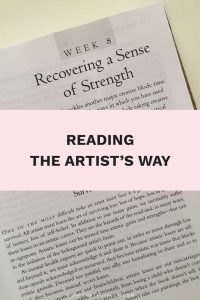 Reading The Artist's Way: Recovering a Sense of Strength