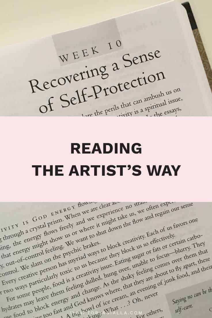 Reading The Artist's Way: Recovering a Sense of Self-Protection