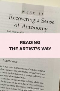 Reading the Artist's Way: Recovering a Sense of Autonomy