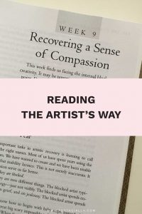 Reading The Artist's Way: Recovering a Sense of Compassion