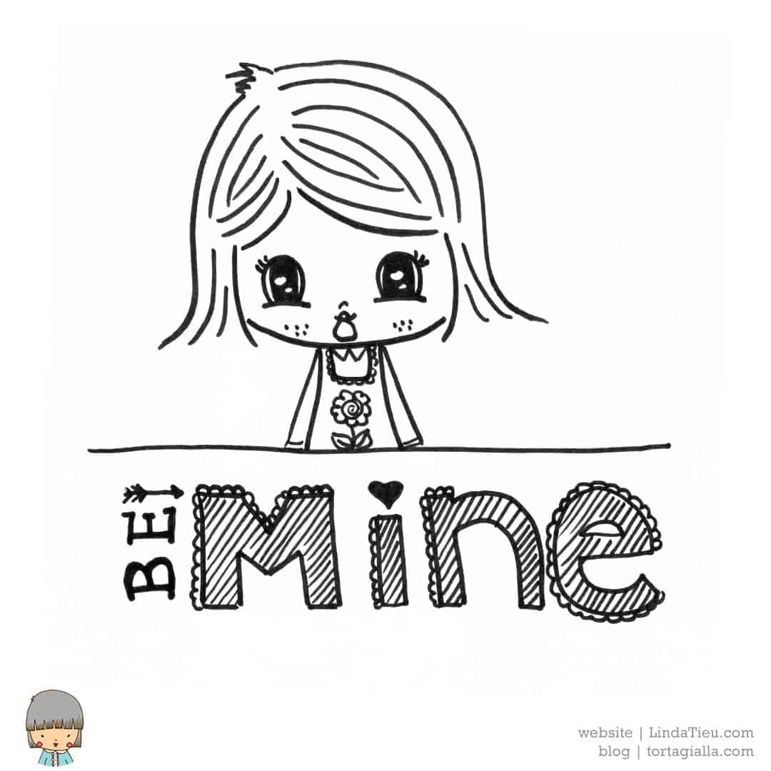 Be Mine LTieu drawing