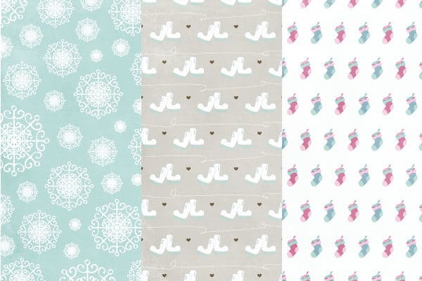 Freebie - Cozy Winter Patterned Paper