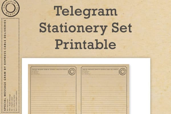 Telegram Stationery