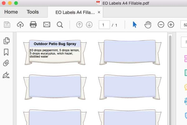 eo labels fillable