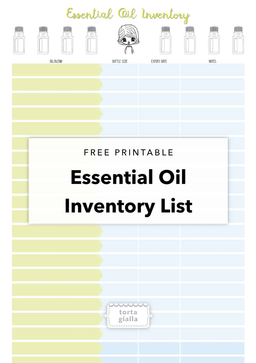 photo relating to Printable List of Essential Oils and Their Uses named Absolutely free Printable - Imperative Oil Stock Listing tortagialla