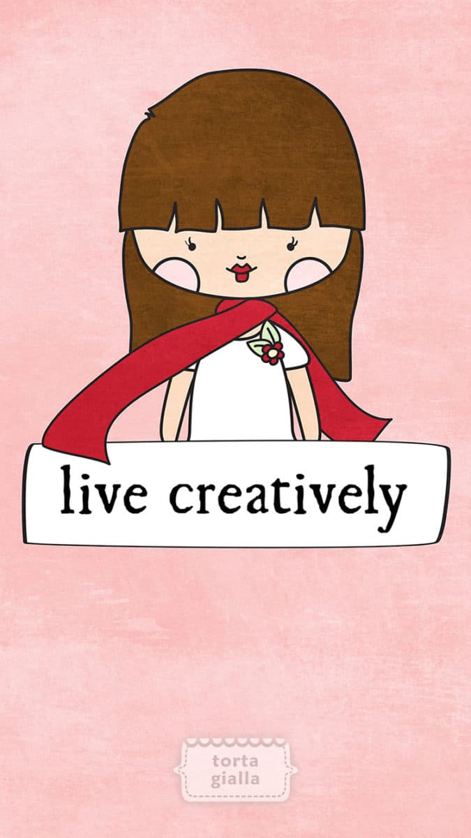 free printable: live creatively