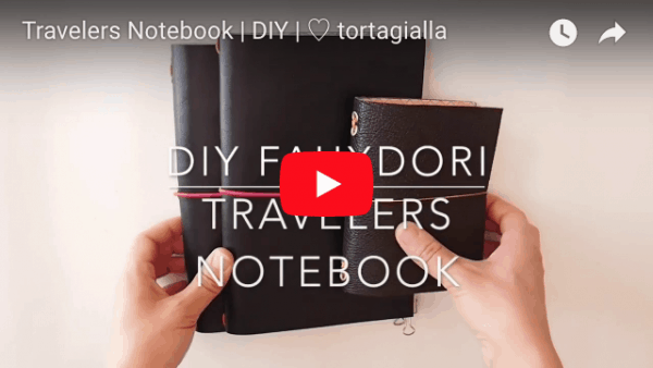 travelers notebook diy