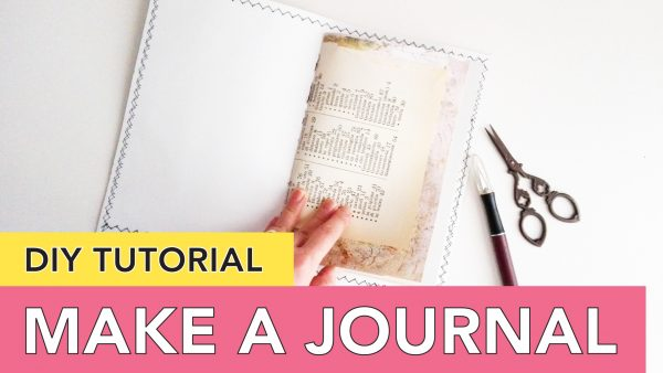 Make a Journal - Video Series
