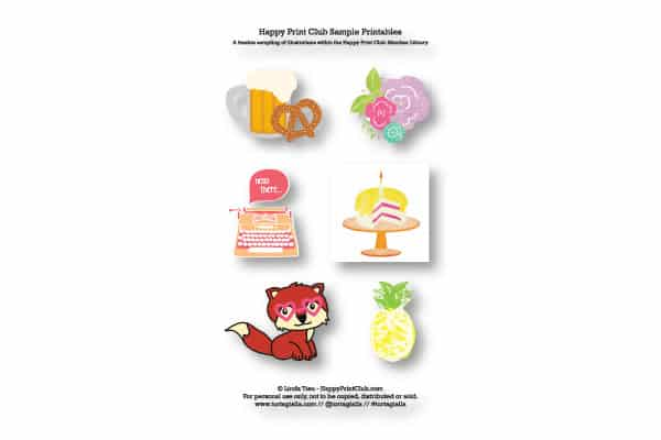 Cute Sticker Designs