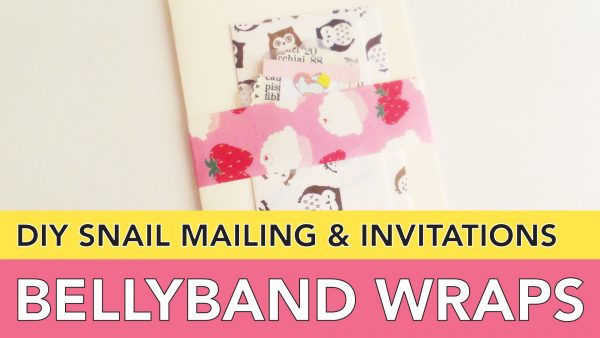 Belly Bands for Invitations, Cards, Snail Mail and Paper Lovers