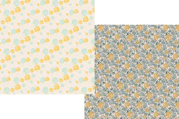 happy floral papers
