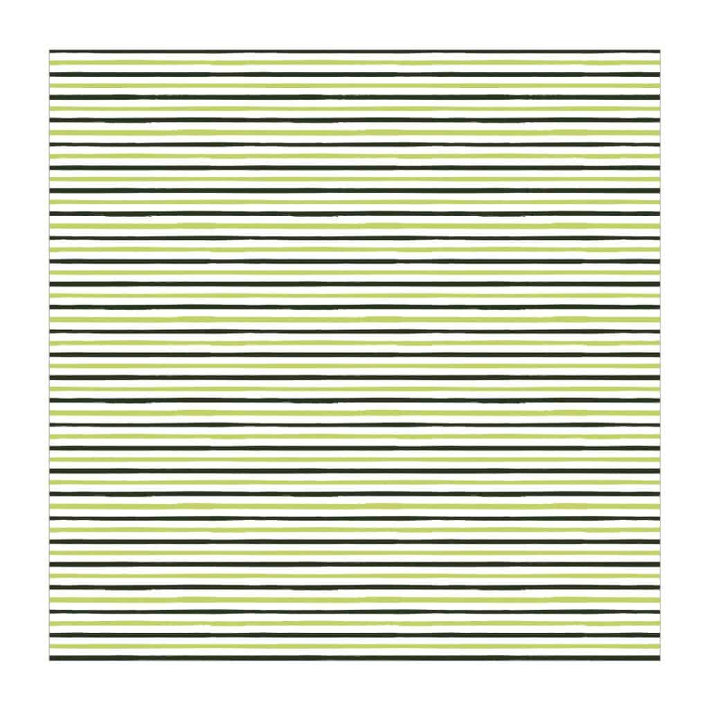 Green Stripes Printable Paper
